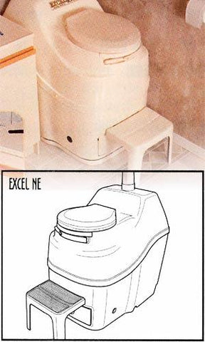 Sunmar Excel Non-Electric Composting Toilet