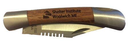 Shelter Institute Pocket Knife