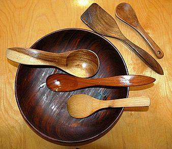 Spoon Carving with Ken Wise  -  Carve a beautiful kitchen spoon in a day  -