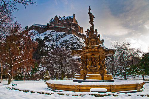 Christmas Card - Edinburgh Castle