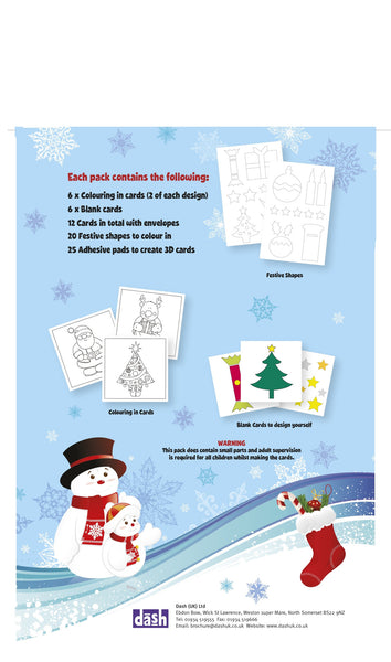 Handmade Christmas Card Kit