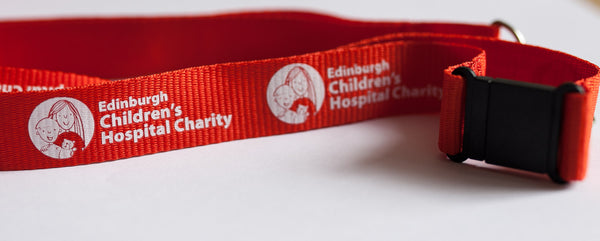 Edinburgh Children's Hospital Charity Lanyard