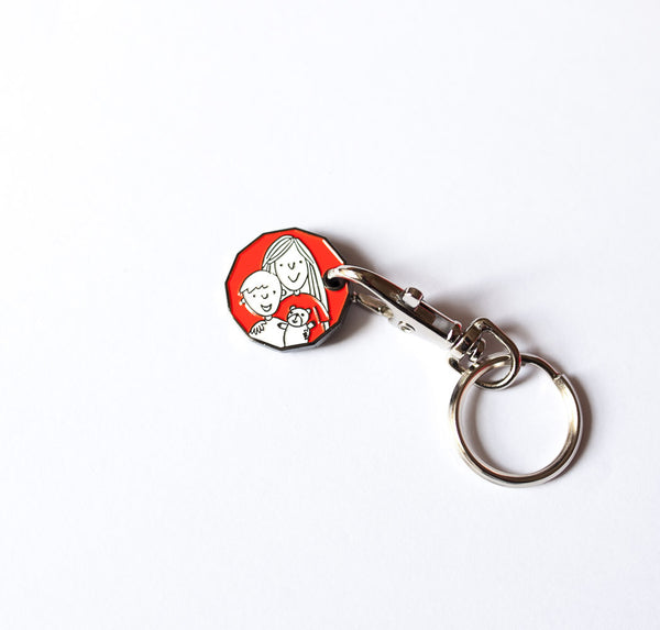 Edinburgh Children's Hospital Charity Trolley Keyring