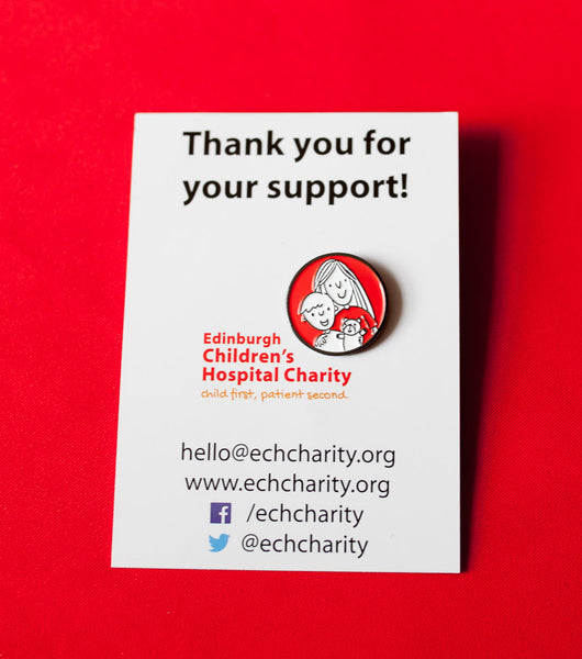 Edinburgh Children's Hospital Charity Pin Badge