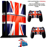 ENGLAND PS4 *TEXTURED VINYL ! * PROTECTIVE SKINS DECAL WRAP STICKERS
