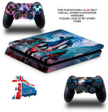 DEVIL MAY CRY PS4 SLIM *TEXTURED VINYL ! *PROTECTIVE SKINS DECALS WRAP