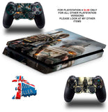 DIVISION 2 PS4 SLIM *TEXTURED VINYL ! *PROTECTIVE SKINS DECALS WRAP