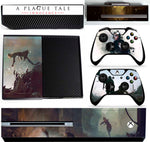 A PLAGUE TAIL OF INNOCENCE XBOX ONE*TEXTURED VINYL ! *PROTECTIVE SKIN DECAL WRAP