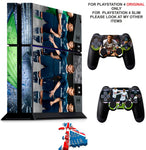 TOTTENHAM PS4 *TEXTURED VINYL ! * PROTECTIVE SKINS DECAL WRAP STICKERS