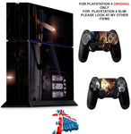 DONT KNOCK TWICE PS4 *TEXTURED VINYL ! * PROTECTIVE SKINS DECAL WRAP STICKERS