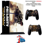 CALL OF DUTY ADVANCED WARFARE PS4 *TEXTURED VINYL ! * PROTECTIVE SKINS DECAL WRAP STICKERS
