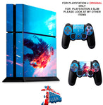 BATTLEFIELD V PS4 *TEXTURED VINYL ! * PROTECTIVE SKINS DECAL WRAP STICKERS