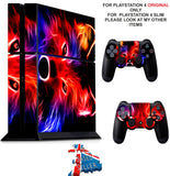 WOLF PS4 *TEXTURED VINYL ! * PROTECTIVE SKINS DECAL WRAP STICKERS