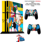 FAMILY GUY PS4 *TEXTURED VINYL ! * PROTECTIVE SKINS DECAL WRAP STICKERS