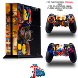 LEGO MOVIE 2 PS4 *TEXTURED VINYL ! * PROTECTIVE SKINS DECAL WRAP STICKERS