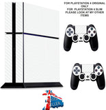 WHITE CARBON EFFECT PS4 *TEXTURED VINYL ! * PROTECTIVE SKINS DECAL WRAP STICKERS