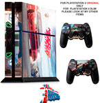 NEED FOR SPEED PAYBACK PS4 *TEXTURED VINYL ! * PROTECTIVE SKINS DECAL WRAP STICKERS