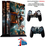 ASSASSINS CREED SYNDICATE PS4 *TEXTURED VINYL ! * PROTECTIVE SKINS DECAL WRAP STICKERS