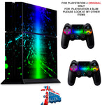 LINE PAINT SPLAT PS4 *TEXTURED VINYL ! * PROTECTIVE SKINS DECAL WRAP STICKERS