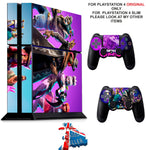FORTNITE SEASON 6 PS4 *TEXTURED VINYL ! * PROTECTIVE SKINS DECAL WRAP STICKERS