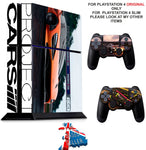 PROJECT CARS 2 PS4 *TEXTURED VINYL ! * PROTECTIVE SKINS DECAL WRAP STICKERS