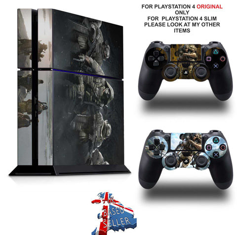 GHOST RECON BREAKPOINT PS4 *TEXTURED VINYL ! * PROTECTIVE SKINS DECAL WRAP STICKERS