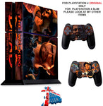 WALKING DEAD THE TELLTALE SERIES A NEW FRONTIER PS4 *TEXTURED VINYL ! * SKINS DECAL WRAP STICKERS