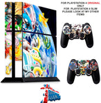 POKEMON PS4 *TEXTURED VINYL ! * PROTECTIVE SKINS DECAL WRAP STICKERS