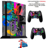 ADIDAS COMBI PS4 *TEXTURED VINYL ! * PROTECTIVE SKINS DECAL WRAP STICKERS