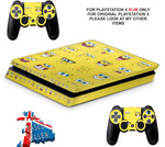 SPONGEBOB PS4 SLIM *TEXTURED VINYL ! *PROTECTIVE SKINS DECALS WRAP