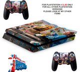 FAR CRY NEW DAWN PS4 SLIM *TEXTURED VINYL ! *PROTECTIVE SKINS DECALS WRAP