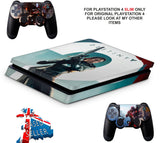 DESTINY 2 PS4 SLIM *TEXTURED VINYL ! *PROTECTIVE SKINS DECALS WRAP