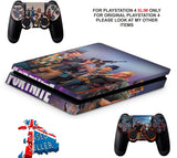 FORTNITE PS4 SLIM *TEXTURED VINYL ! *PROTECTIVE SKINS DECALS WRAP