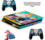 FAMILY GUY PS4 SLIM *TEXTURED VINYL ! *PROTECTIVE SKINS DECALS WRAP
