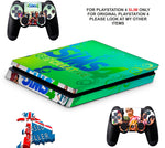 SIMS 4 PS4 SLIM *TEXTURED VINYL ! *PROTECTIVE SKINS DECALS WRAP