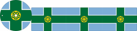 AQUAROLL STICKER KIT DERBYSHIRE FLAG