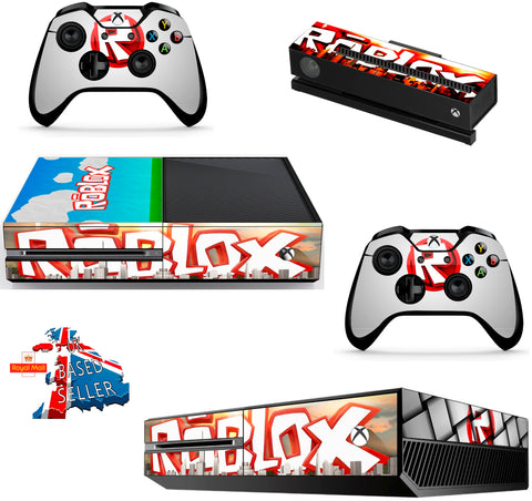 ROBLOX XBOX ONE *TEXTURED VINYL ! *PROTECTIVE VINYL SKIN DECAL WRAP