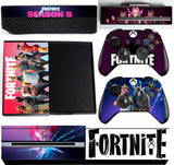 FORTNITE SEASON 5 XBOX ONE *TEXTURED VINYL ! * PROTECTIVE SKIN DECAL WRAP