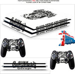 FAST N LOUD PS4 PRO SKINS DECALS (PS4 PRO VERSION) TEXTURED VINYL
