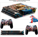 FAR CRY NEW DAWN PS4 PRO SKINS DECALS (PS4 PRO VERSION) TEXTURED VINYL