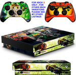LEGO NINJAGO XBOX ONE X *TEXTURED VINYL ! * PROTECTIVE SKINS DECALS STICKERS