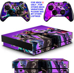 FORTNITE SEASON 6 XBOX ONE X *TEXTURED VINYL ! * PROTECTIVE SKINS DECALS STICKERS