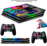 ADIDAS COMBI PS4 PRO SKINS DECALS (PS4 PRO VERSION) TEXTURED VINYL