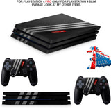 ADIDAS TEXTURE PS4 PRO SKINS DECALS (PS4 PRO VERSION) TEXTURED VINYL