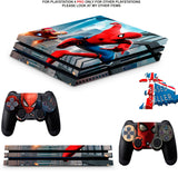 SPIDERMAN PS4 PRO SKINS DECALS (PS4 PRO VERSION) TEXTURED VINYL