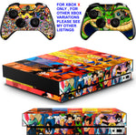 DRAGON BALL Z XBOX ONE X *TEXTURED VINYL ! * PROTECTIVE SKINS DECALS STICKERS