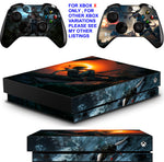 SHADOW OF THE TOMB RAIDER XBOX ONE X *TEXTURED VINYL ! * PROTECTIVE SKINS DECALS STICKERS