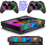 ADIDAS COMBI XBOX ONE X *TEXTURED VINYL ! * PROTECTIVE SKINS DECALS STICKERS