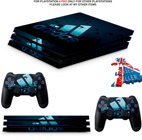 ADIDAS BUBBLES PS4 PRO SKINS DECALS (PS4 PRO VERSION) TEXTURED VINYL