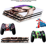 SUICIDE SQUAD PS4 PRO SKINS DECALS (PS4 PRO VERSION) TEXTURED VINYL